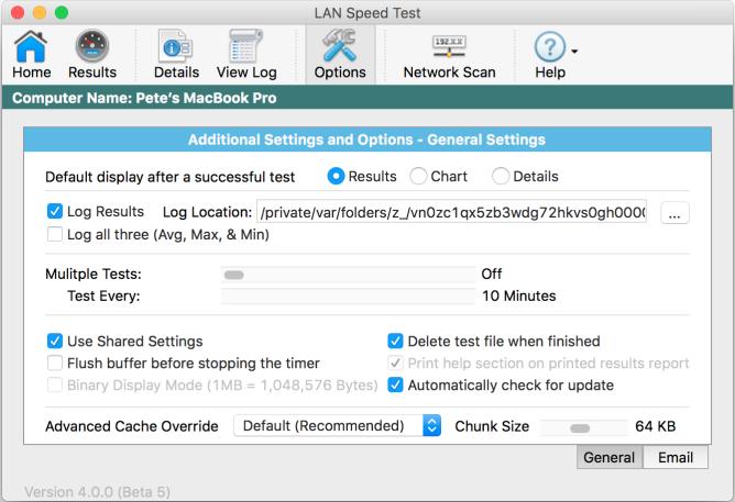 Totusoft | LAN Speed Test